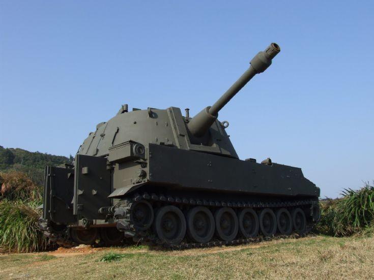 M108 105mm self-propelled gun