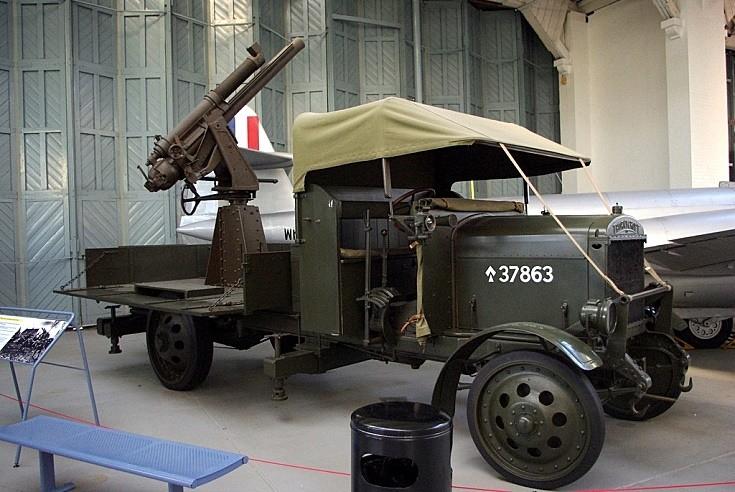 Early anti aircraft gun