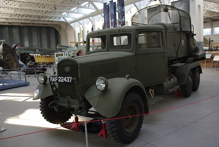 RAF barrage balloons vehicle