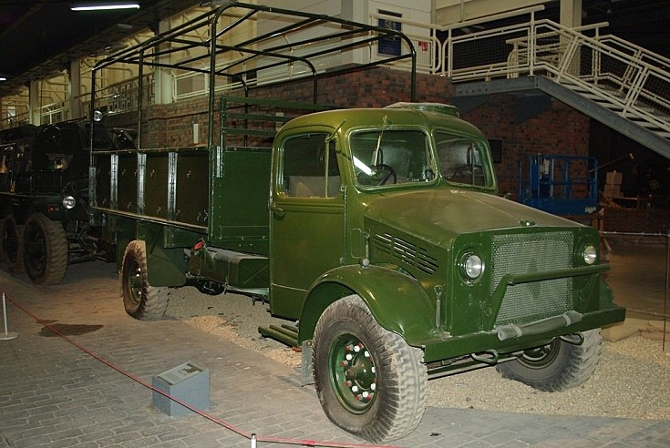 Bedford in use as a General Service Truck