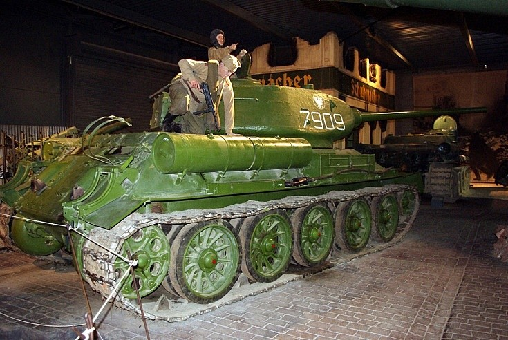 T-34 at Imperial War Museum