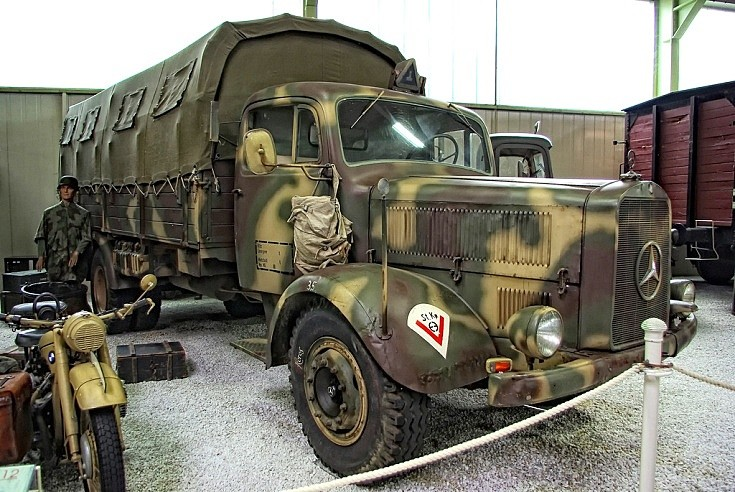 MB L4500S WWII truck