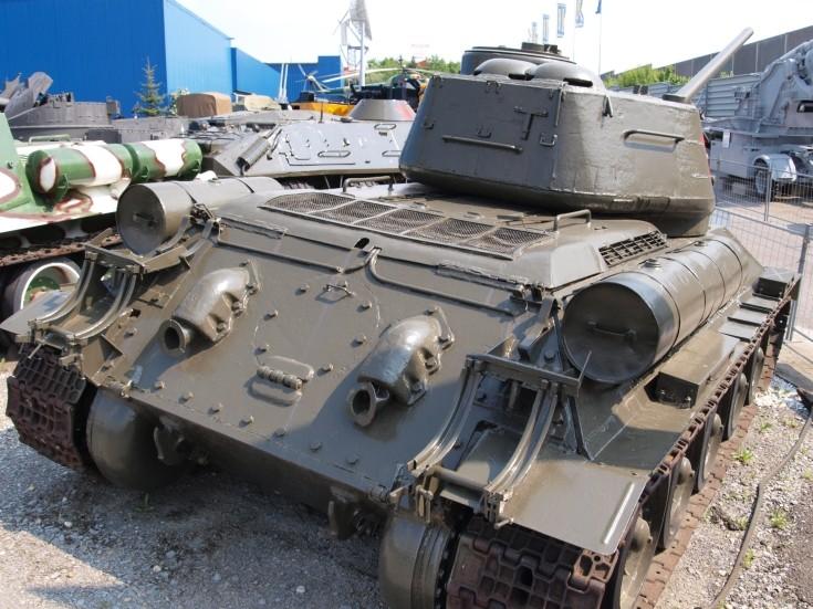 Russian T-34/85 medium tank