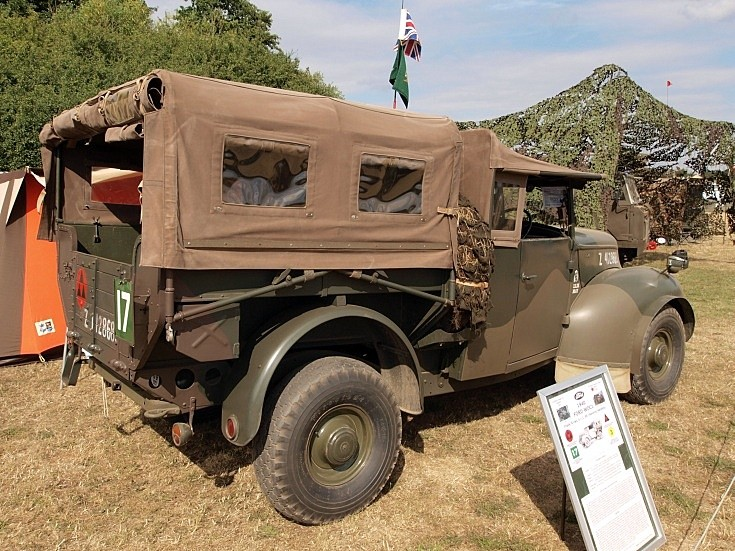 Ford WOC-1 at War & Peace Show