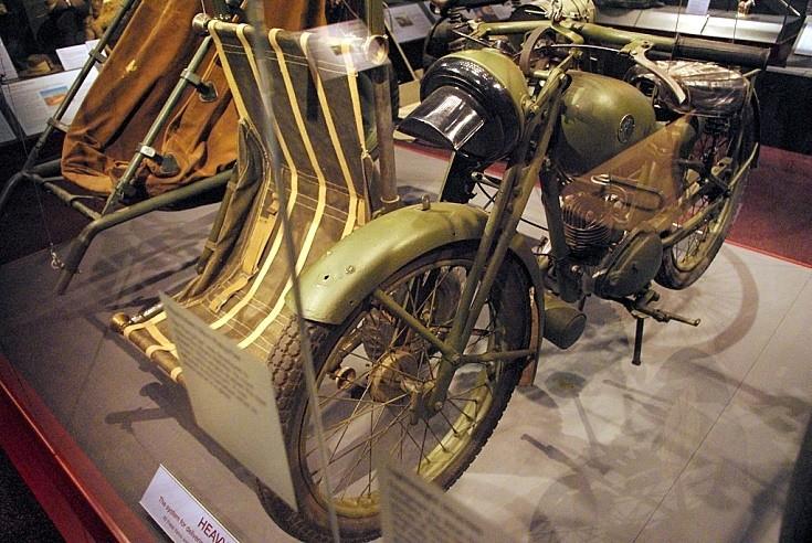 Unidentified British motorcycle