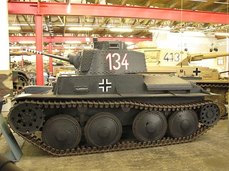 Panzerkampfwagen 38