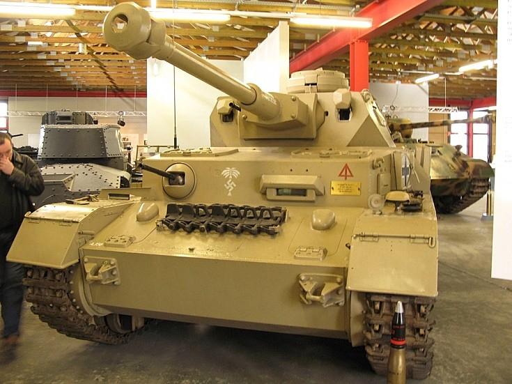 Panzerkampfwagen IV in Munster