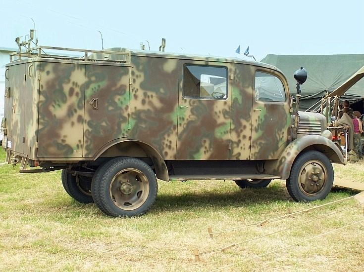 Former army truck