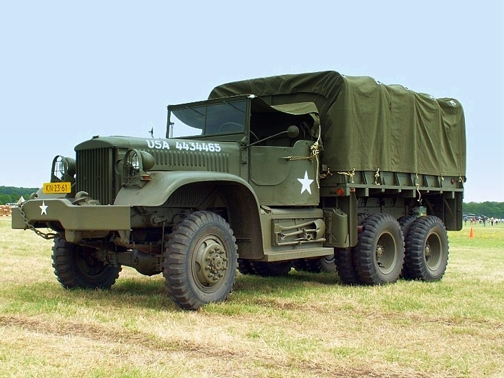 Historic US Army truck USA 4434465