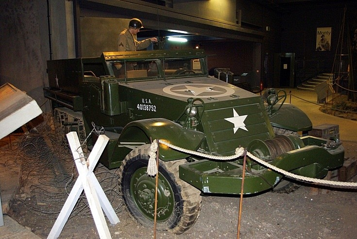 White halftrack