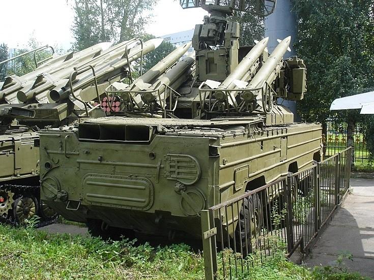 Missile system 9K33 Osa