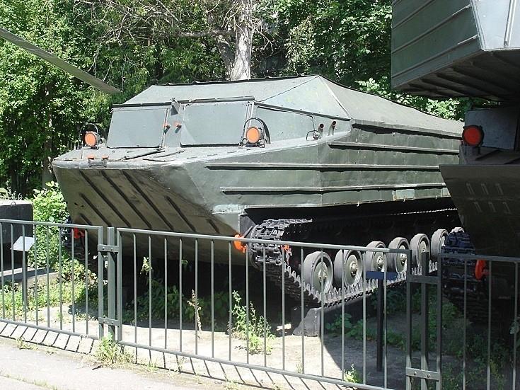 K-61 K-61 tracked amphibious transporter