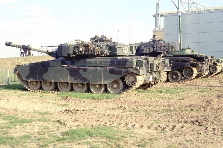 Chieftain and Centurion tanks