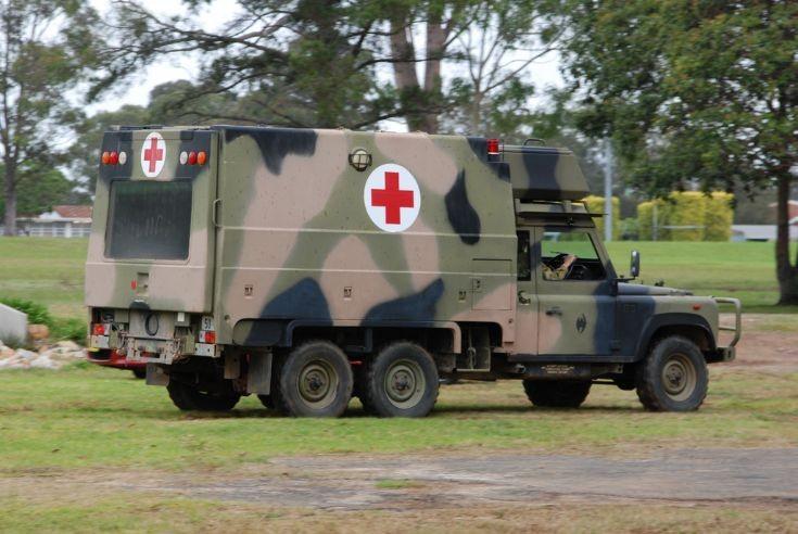 Image Gallery Military Ambulance