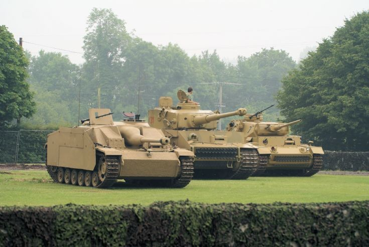 Stug, Tiger I  & Panzer III