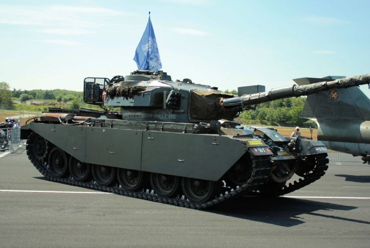 Centurion tank Dutch army