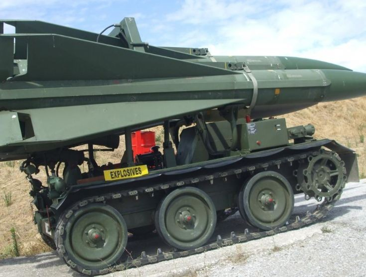 Loader for Raytheon 'Homing All the Way Killer'