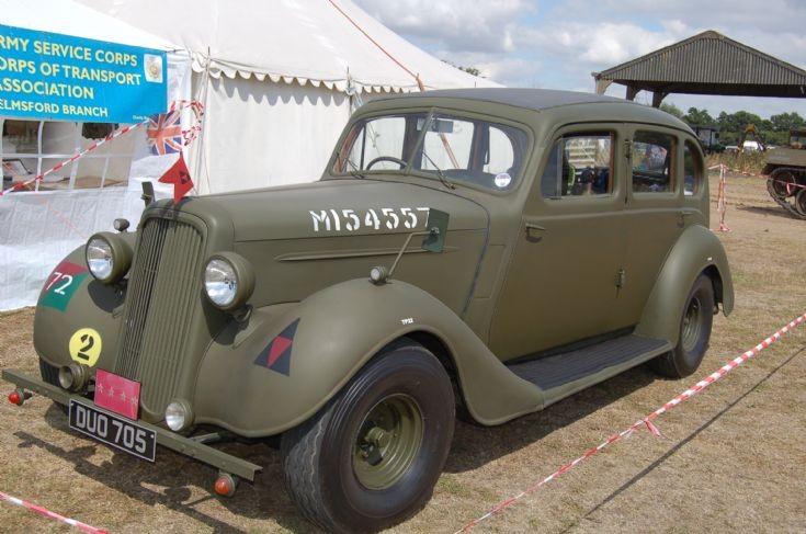1938 HUMBER STAFF CAR