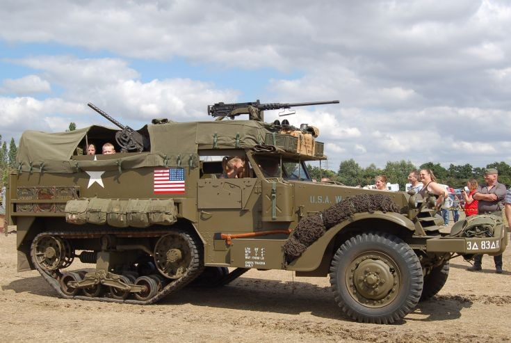 US CARRIER, PERSONNEL HALF-TRACK M3