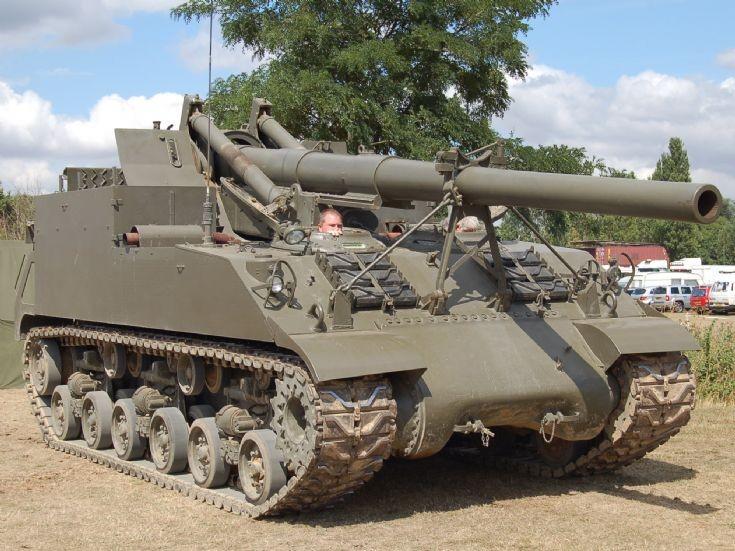 M40 Long Tom SPG