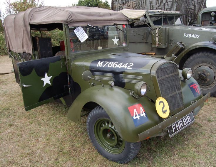 WWII 1943 STANDARD UTILITY VEHICLE, FHR 818