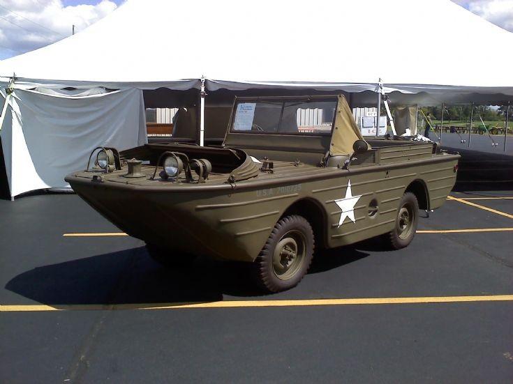 1942 Ford GPA Amphibious Jeep