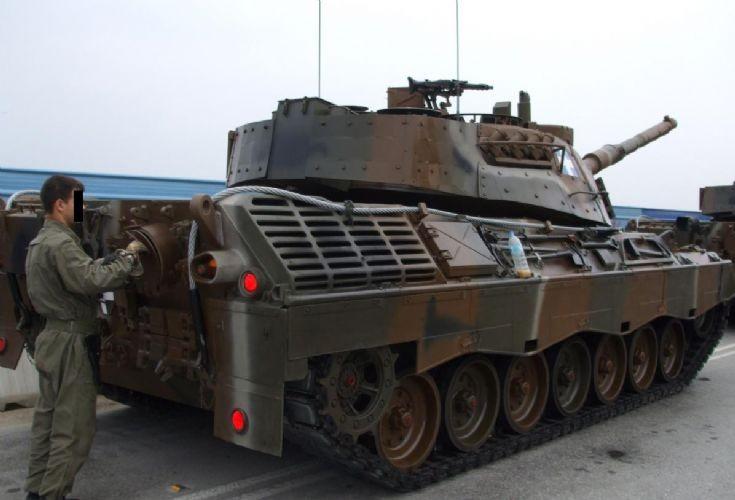 Leopard LEO1A5 Tank Greek army