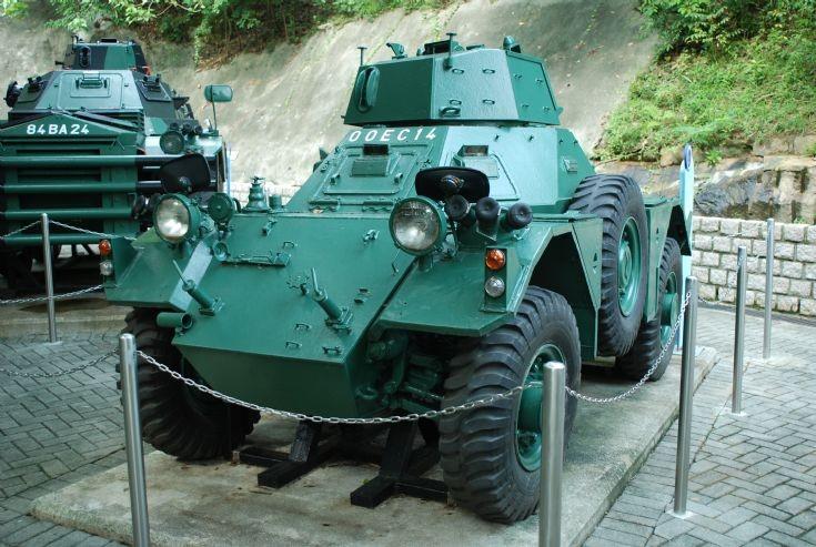 British Ferret Mark II Scout Car