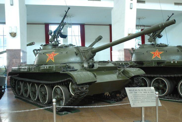 Chinese Type 62 Light Tank