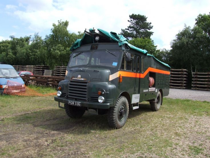 British Armed Forces fire engine - Green Goddess