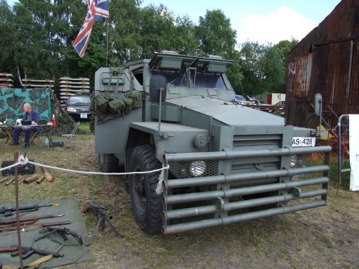 Unidentified armoured military vehicle AS 428