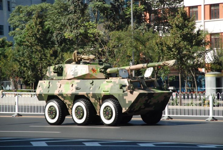 Chinese PTL02 120mm tank destroyer