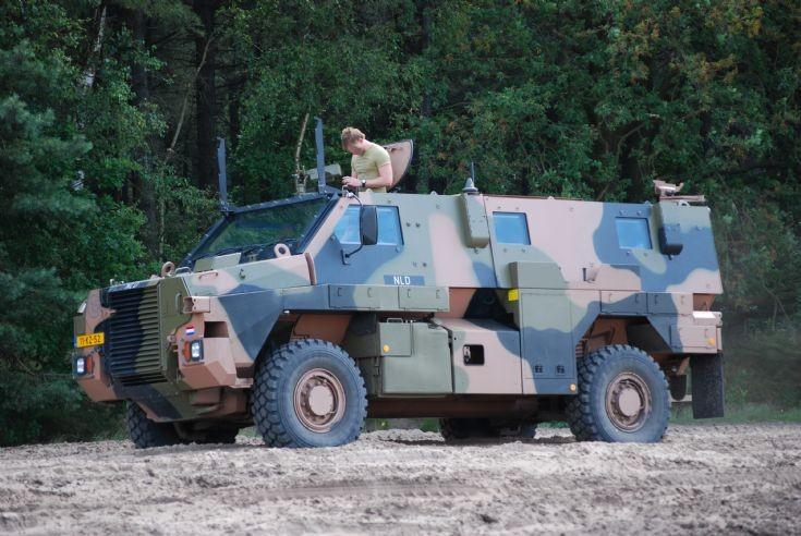 Military Vehicle Photos - ADI-THALES Bushmaster NLD APV