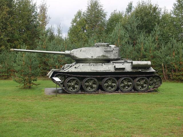 Russian T-34 in Norway