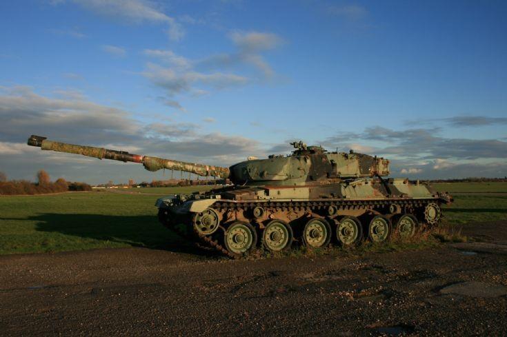 Chieftain Tank.
