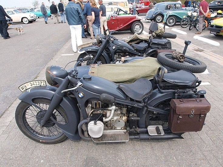 Two BMW R12's