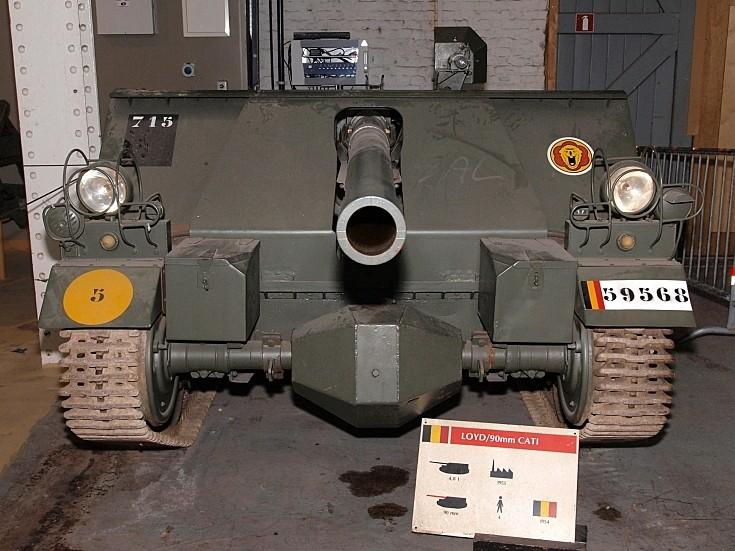 Loyd 90mm CATI SPG