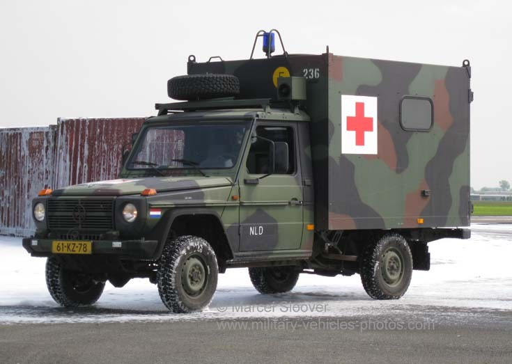 Mercedes Medical unit Dutch army