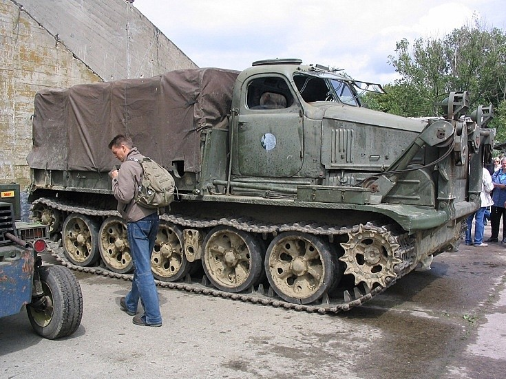Photo of BAT full-tracked artillery tractor