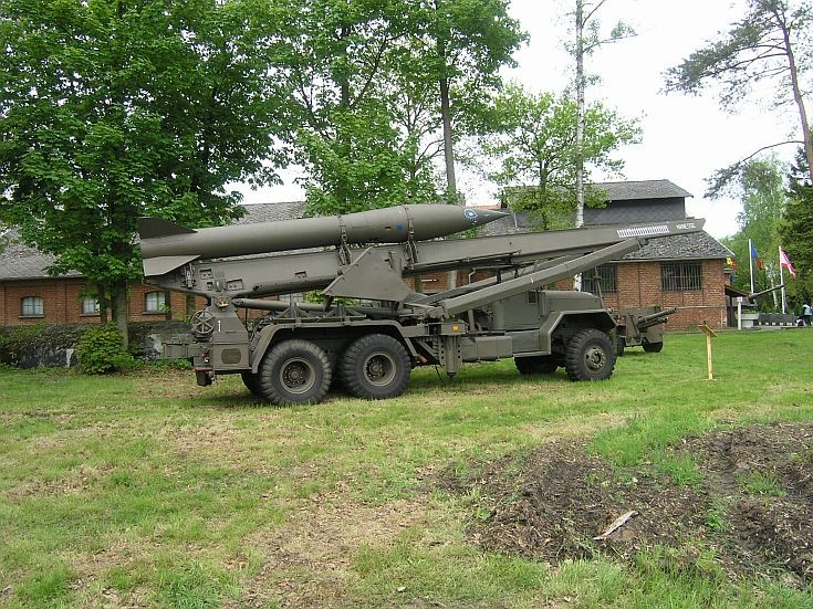 Honest John tactical ballistic artillery rocket