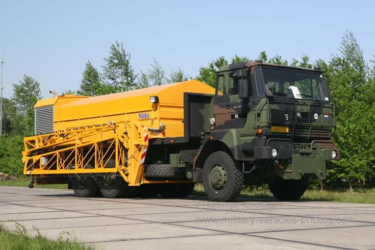 DAF Nido Winter Service truck Gilze AFB