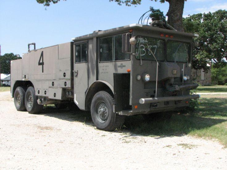 Former USAF crash truck