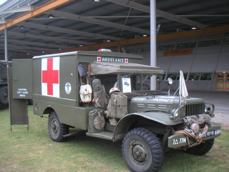 Dodge WC-64KD 'Knock Down' ambulance