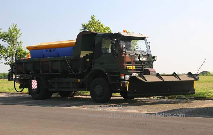 Scania Nido Winter service unit Gilze AFB