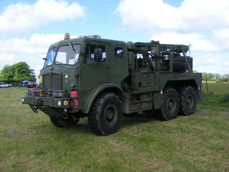 AEC Recovery Truck