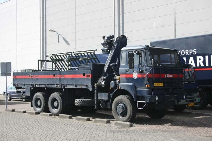 Royal Dutch Marines DAF truck