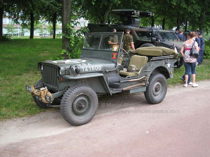 WWII US Army Jeep 141600