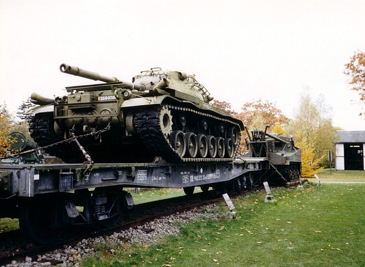M47 on the train