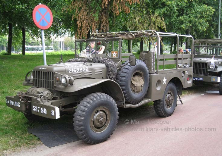 WWII US Army military vehicle
