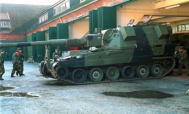 AS90 SP Howitzer